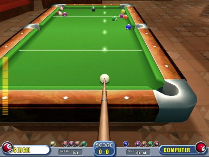 Real Pool Download - Pool table description