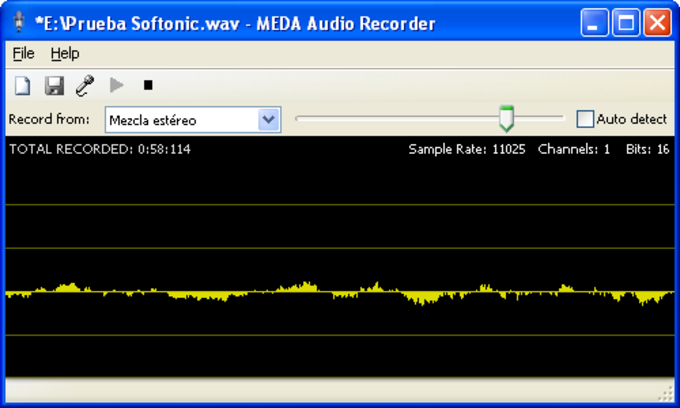 Meda MP3 Recorder