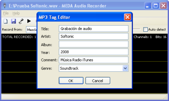 Meda Audio Recorder