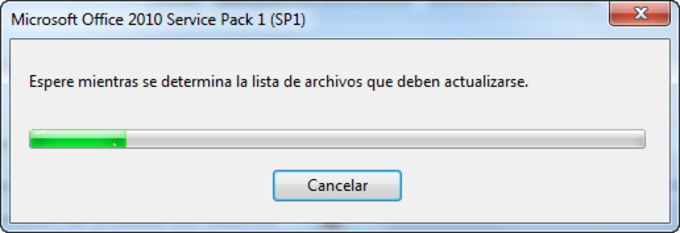 Service Pack 1 para Microsoft Office 2010