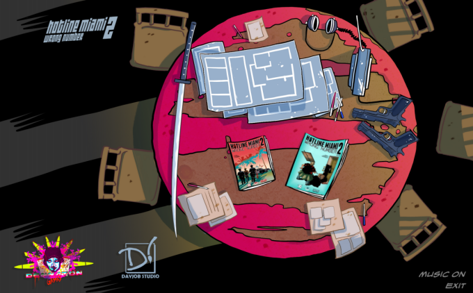 Hotline Miami 2: Wrong Number Comic