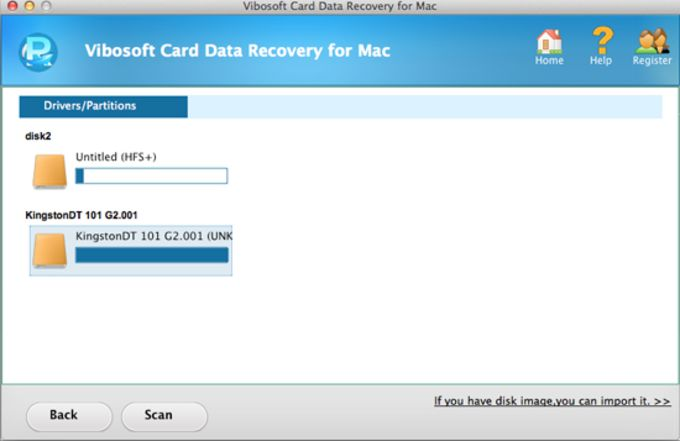 Vibosoft Card Data Recovery for Mac