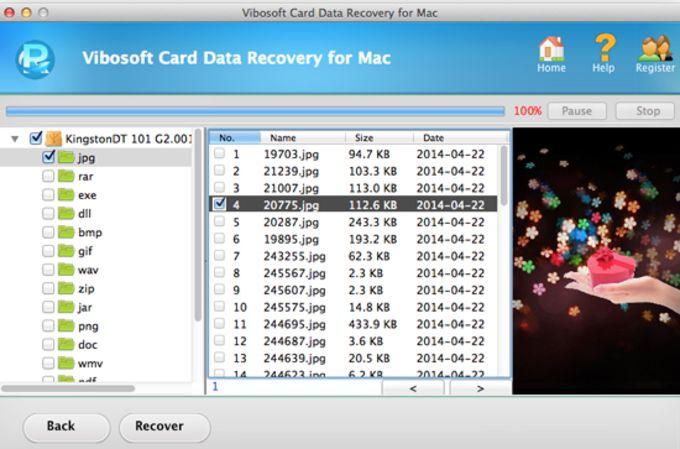 Vibosoft Card Data Recovery for Mac