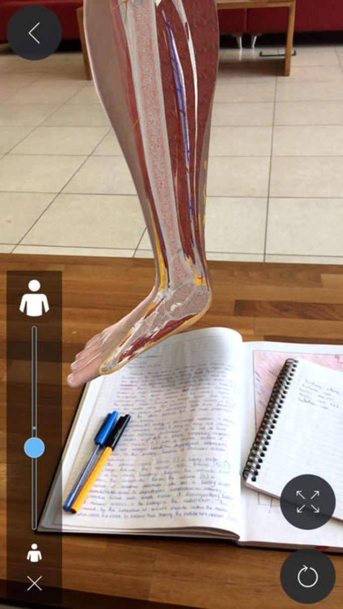 Complete Anatomy for iPhone