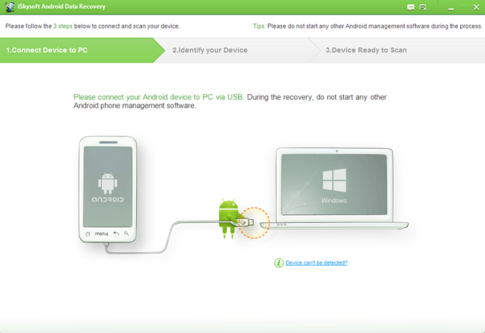 iSkysoft Android Data Recovery