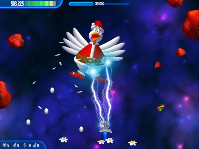 Chicken Invaders III Christmas Edition