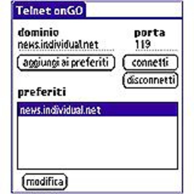 Telnet onGo