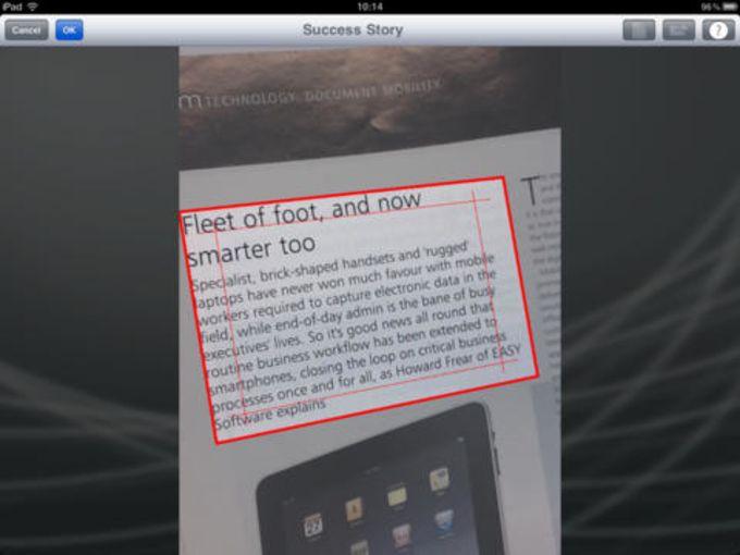 Readiris for iPad - OCR App