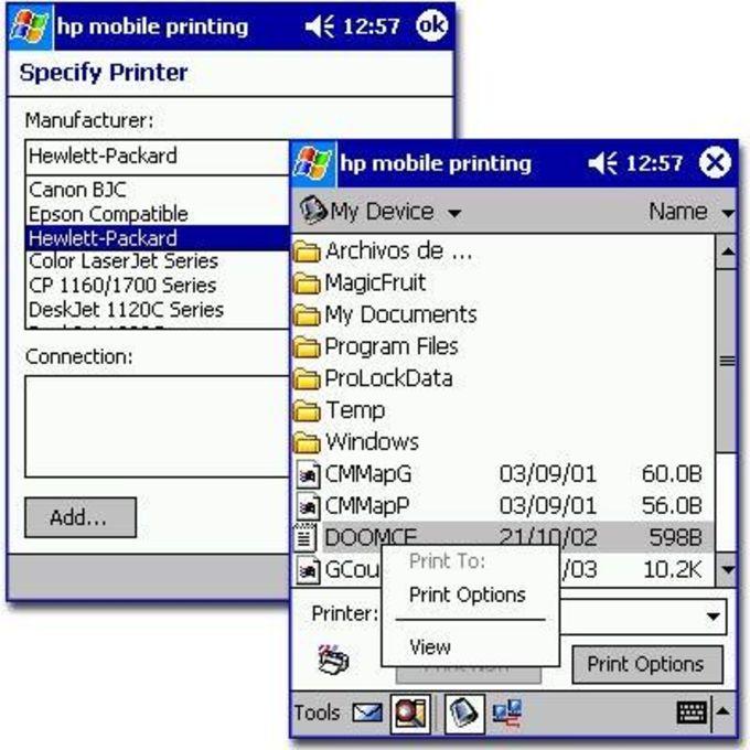 HP Mobile Printing