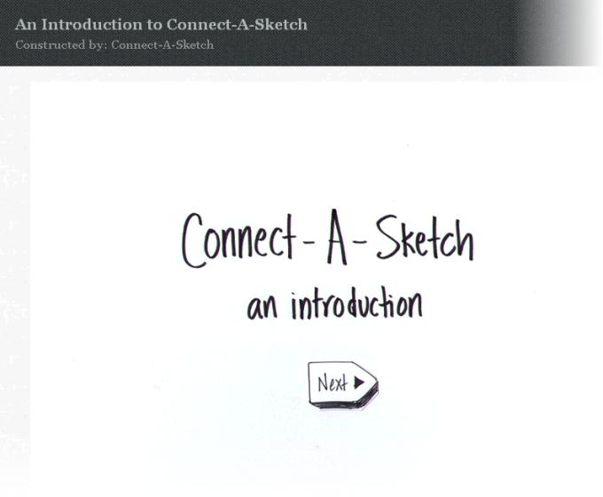 Connectasketch