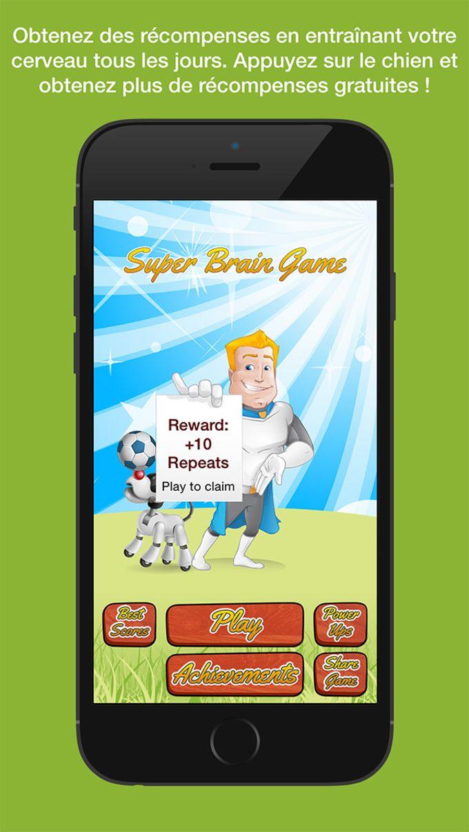 Super Brain Game - Entrenamiento cognitivo simple para ayudar a mejorar tu memoria