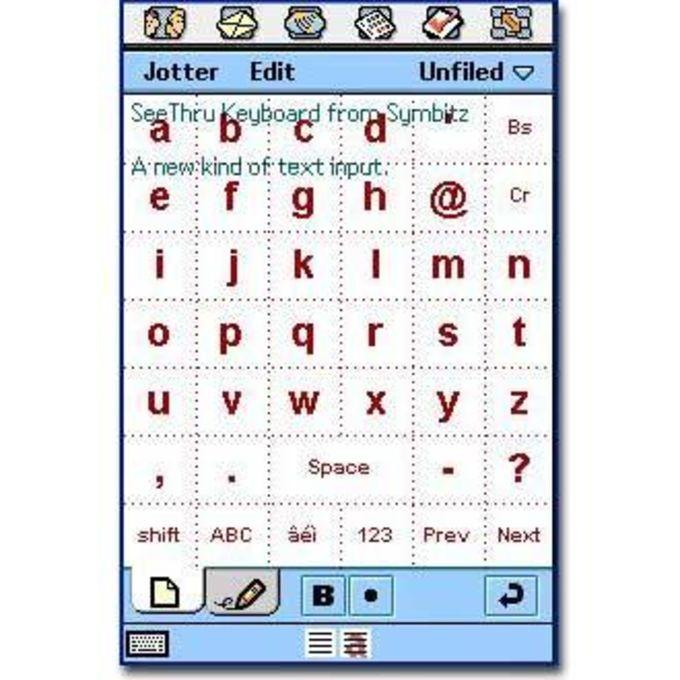 SeeThru Keyboard