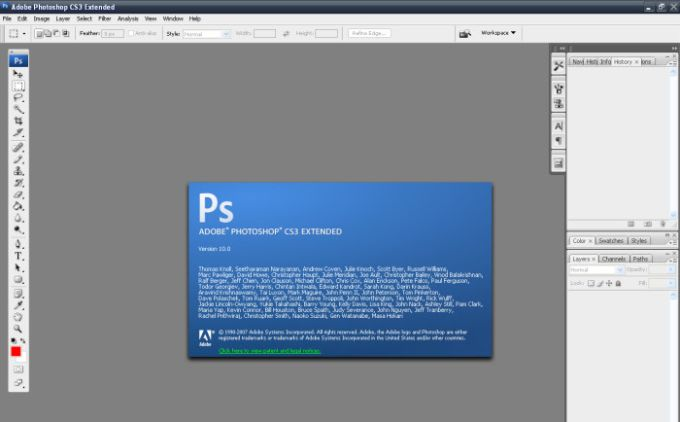 Adobe Photoshop CS3 Update für Mac