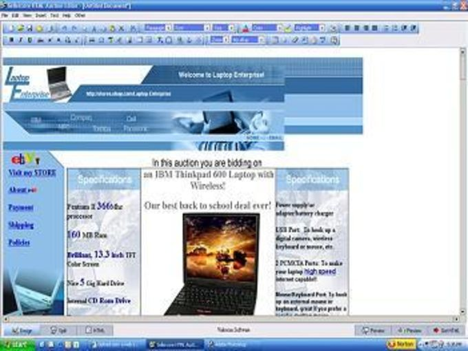 Sellercore HTML Auction Editor