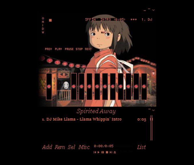 Winamp Skin: Spirited Away Chihiro