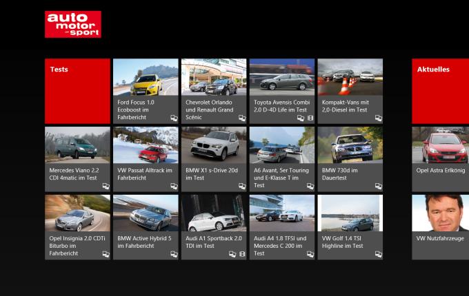 auto motor und sport für Windows 10