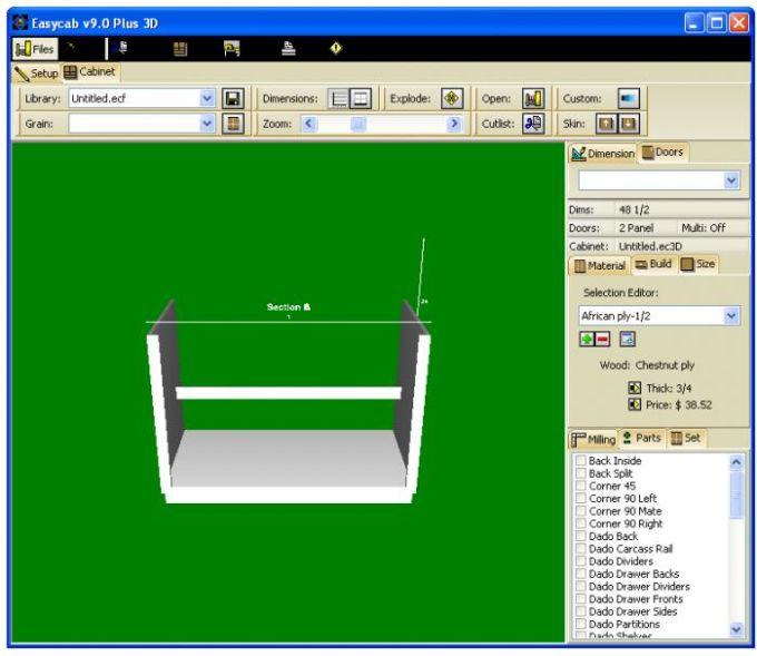 EasyCab Plus Cabinet Designer