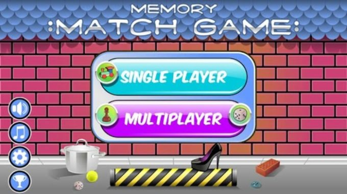 Memory Match Game – Items