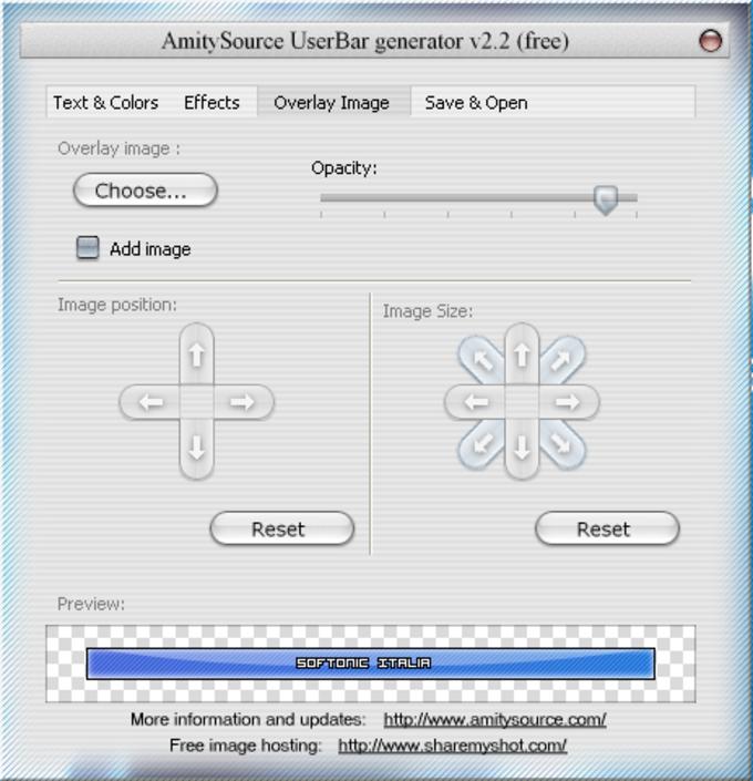 UserBar Generator