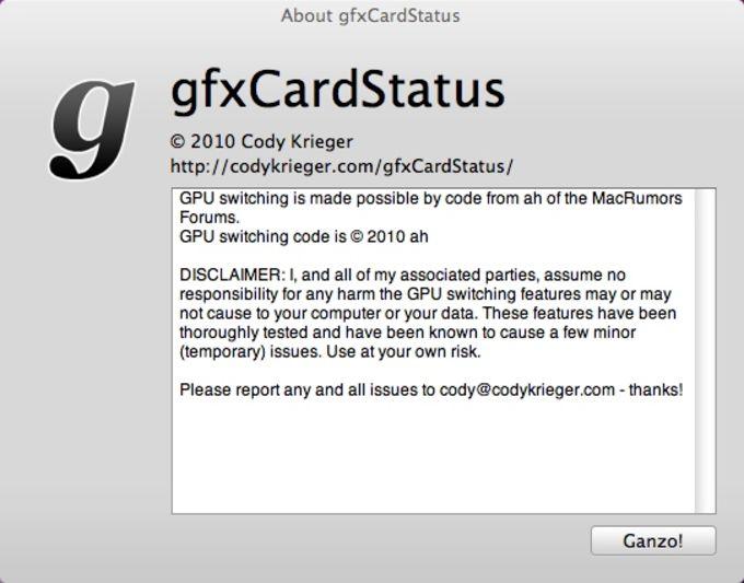 gfxCardStatus