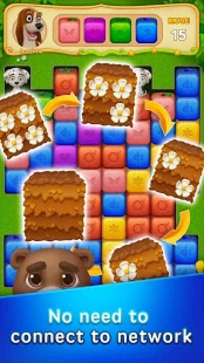 Fruit Block  Puzzle Legend