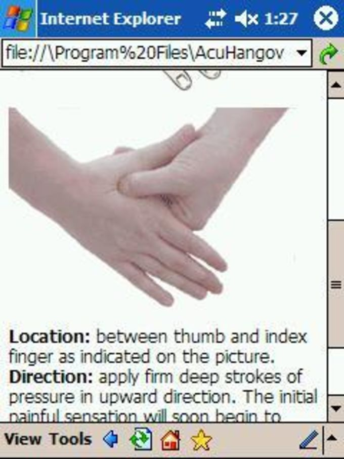 Hangover Remedy - Acupressure Guide