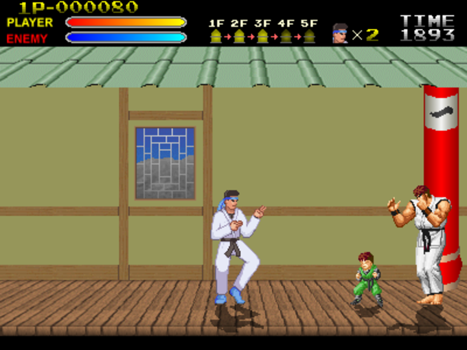 Kung-Fu Master Returns