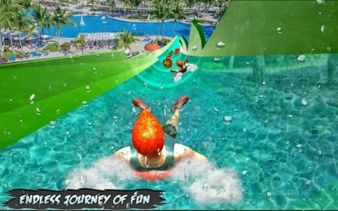 Water Park Slide Adventure