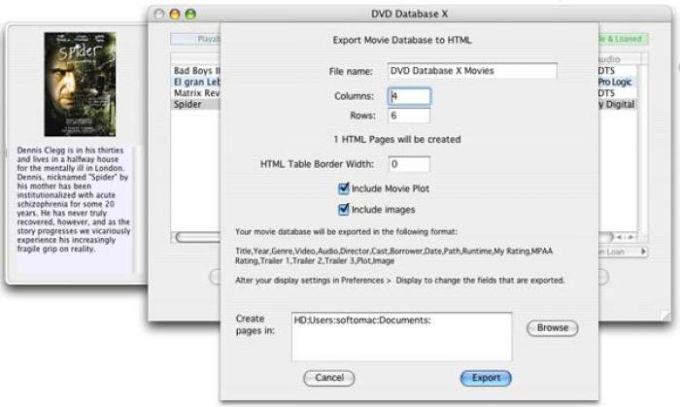 DVD Database