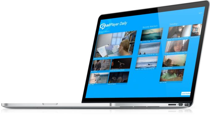 RealPlayer Daily Videos per Windows 10