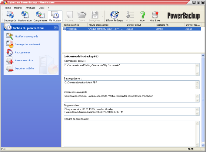 CyberLink PowerBackup