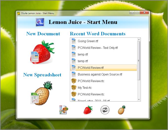 SSuite Lemon Juice