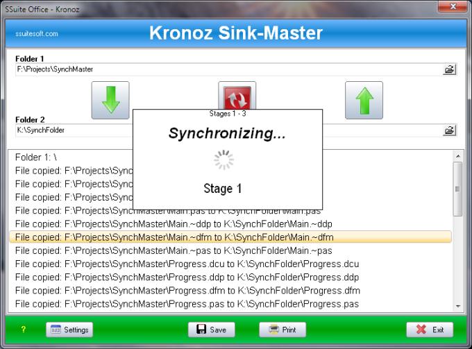SSuite Kronoz Sync Master