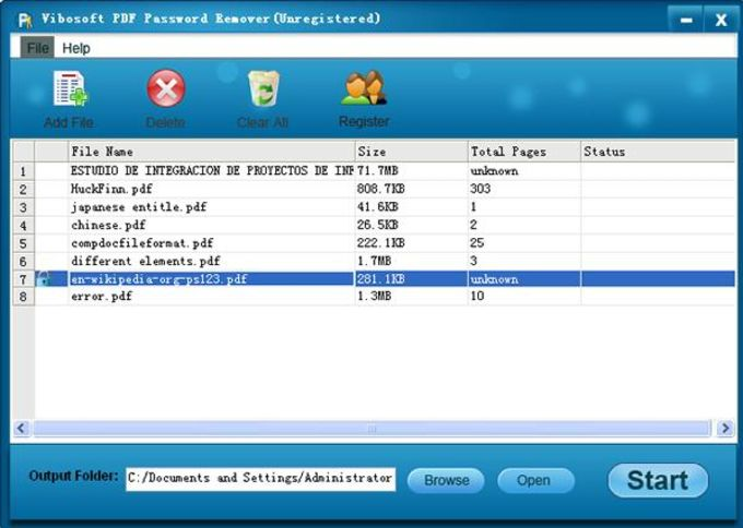 Vibosoft PDF Password Remover