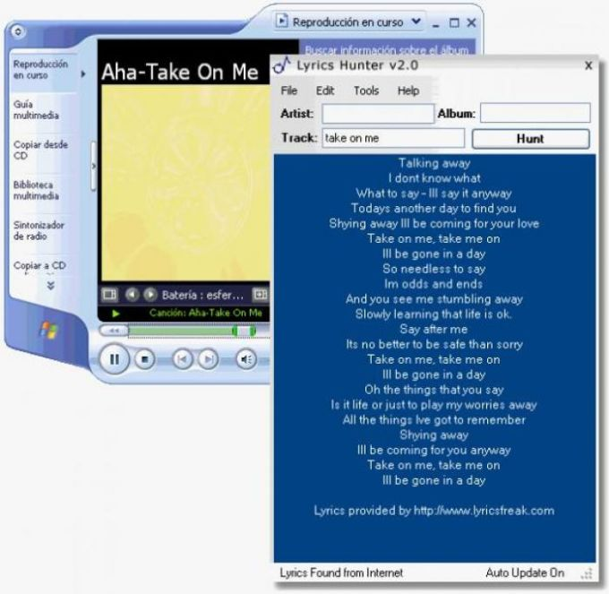 Lyrics Hunter