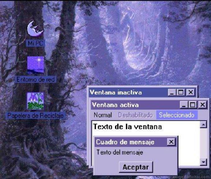 Moonlight Desktop Theme