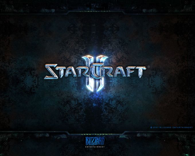 StarCraft II Logo Wallpaper