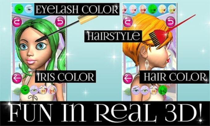 Princess 3D Salon