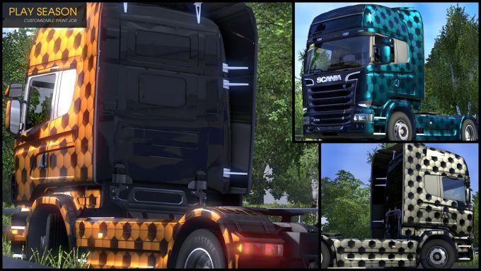 Euro Truck Simulator 2 - Flip Paint Designs