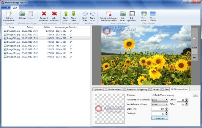 Hexonic Image Resizer