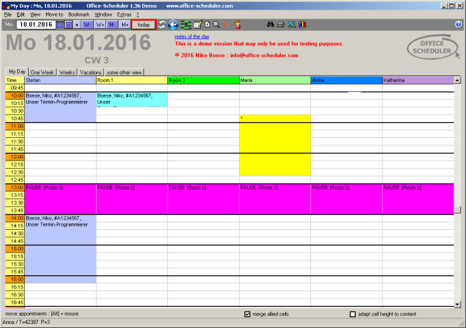 Office-Scheduler