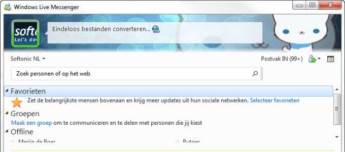 Thema's voor MSN