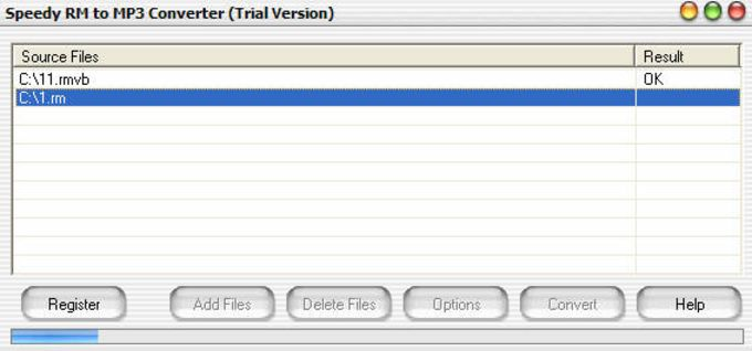 Speedy RM to MP3 Converter