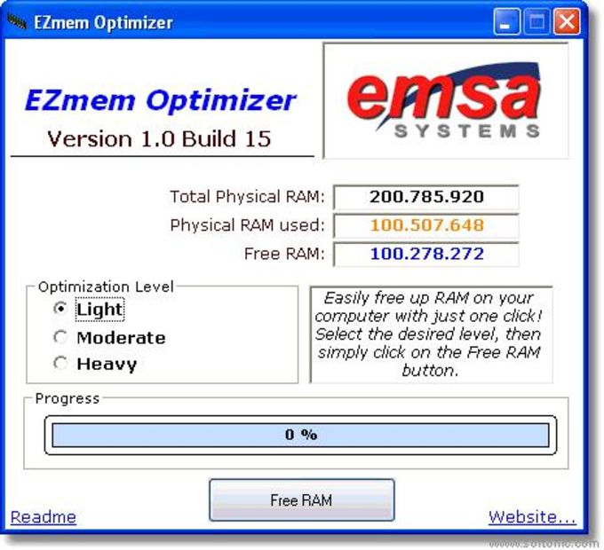 Emsa EZMem Optimizer