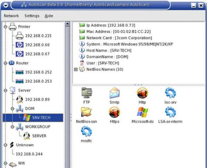 AutoScan Network
