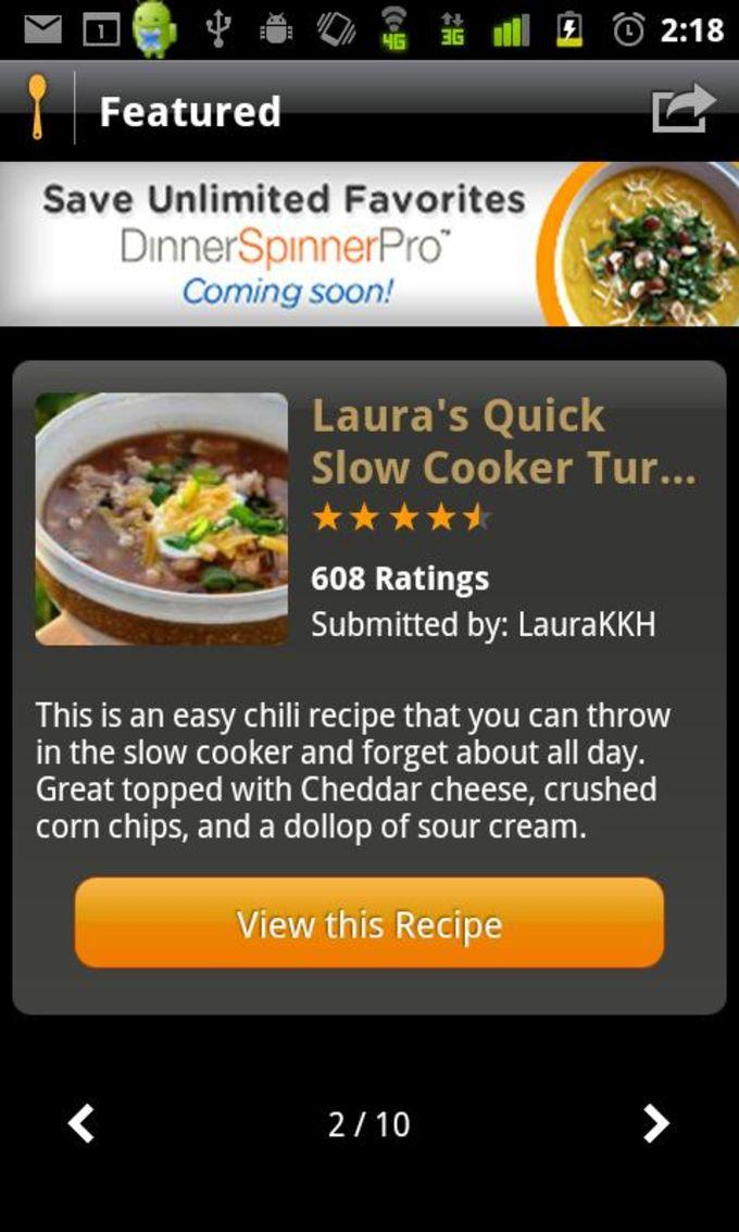 Allrecipes.com Dinner Spinner