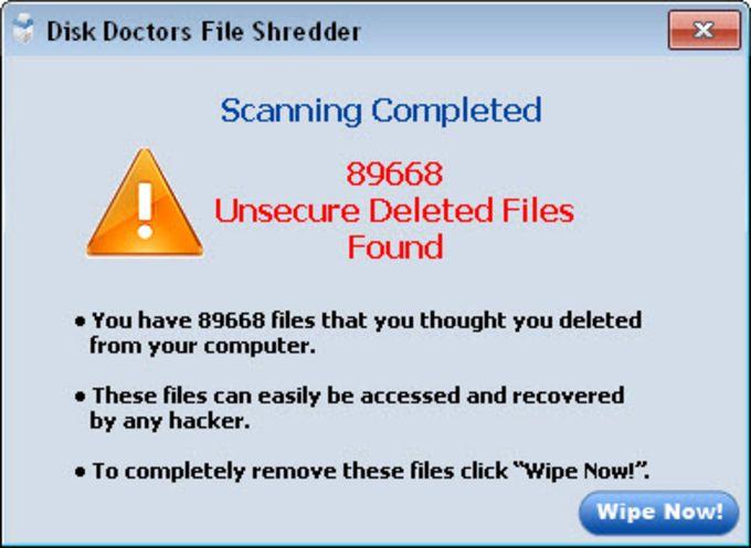 Disk Doctors File Shredder