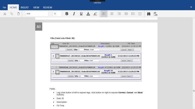 Editable Word