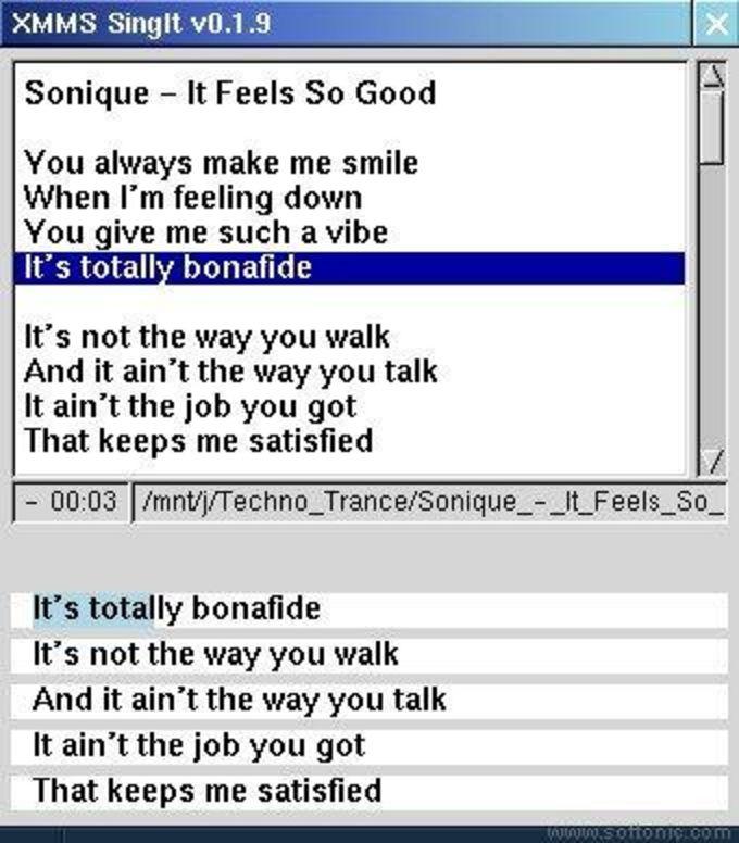 SingIt Lyric Displayer