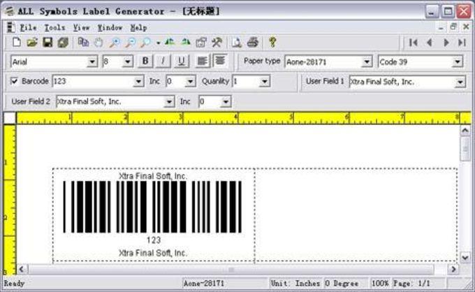 ALL Symbols Label Generator